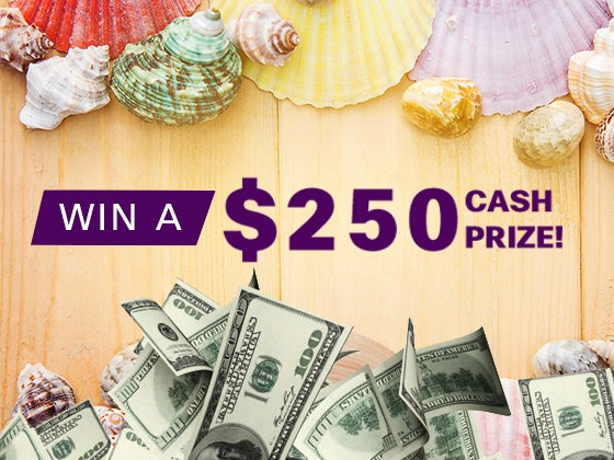 $250 Cash Prize June 2017 sweepstakes