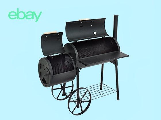 Gewinnen Sie einen Smoker von eBay! Gewinnspiel