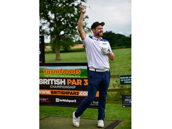 Farmfoods British Par 3 Championship golf prize bundle sweepstakes