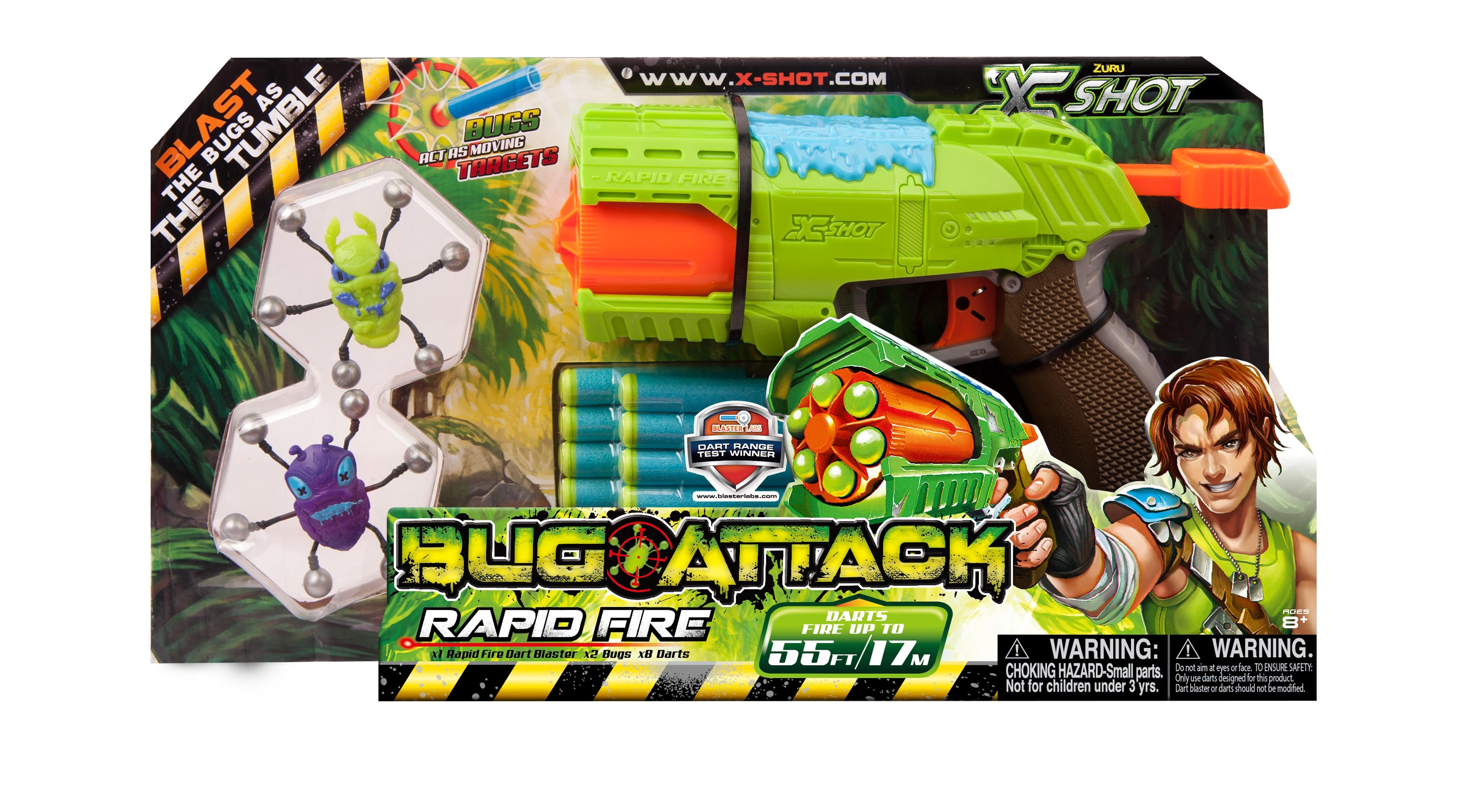 X-Shot 'Bug Attack' Prize Pack  sweepstakes