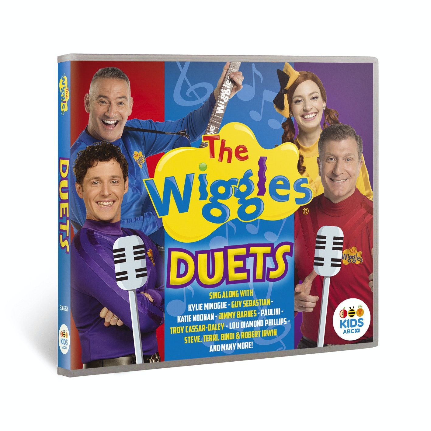 The wiggles   duets 3d packshot