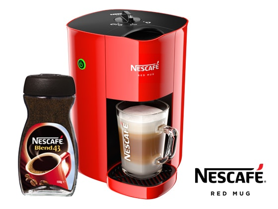 NESCAFÉ® RED MUG® MACHINE sweepstakes