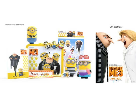 Despicable Me sweepstakes