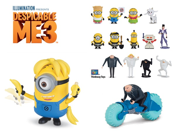 Despicable Me 3 Toy Packs sweepstakes