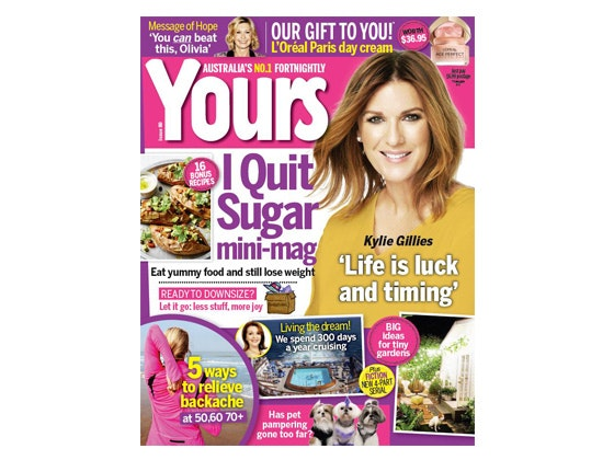 Yours Subscription sweepstakes