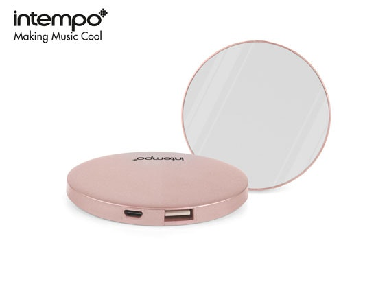 Intempo Rose Gold Mirror Powerbank! sweepstakes