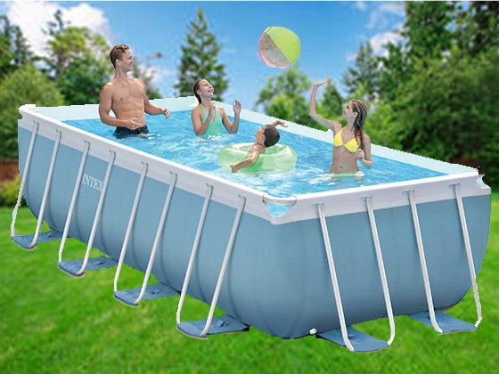 Intex prism frame pool giveaway