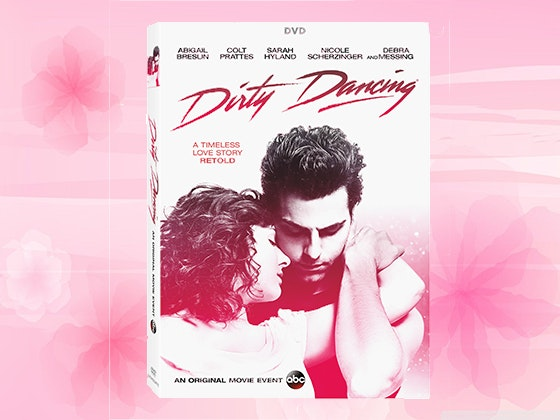 ABC's Dirty Dancing Television Special DVD sweepstakes