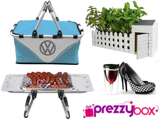 Prezzybox vw bbq portable wine glass indoor allotment competition