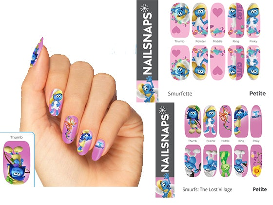"Smurf-Inspired NailSnaps & ""Smurfs: The Lost Village"" on DVD sweepstakes"