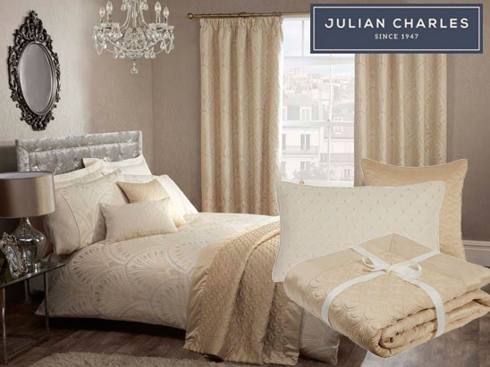 Julian Charles Gatsby bedding & accessories sweepstakes