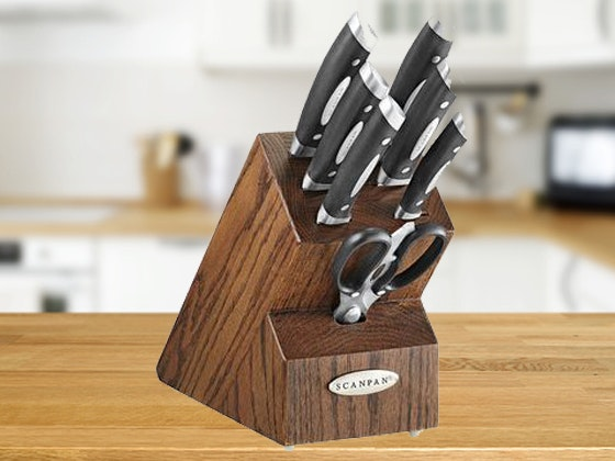 Vicalina 8 Piece Knife Block Set sweepstakes