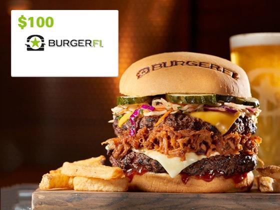 Burgerfi giveaway june 1