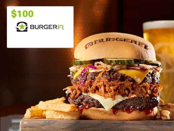 $100 BurgerFi Gift Card sweepstakes