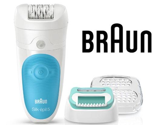 Braun silk epil 5 starter kit competition