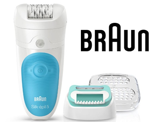 a Braun Silk-épil 5 starter kit sweepstakes