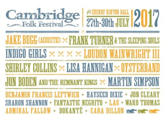 Cambridge folk festival 3