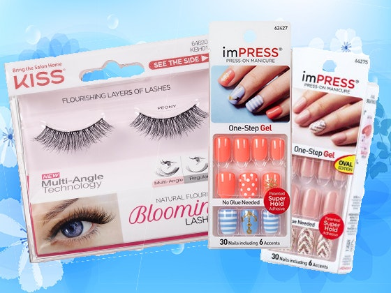 imPRESS Press-on Manicures and KISS Blooming Lashes sweepstakes