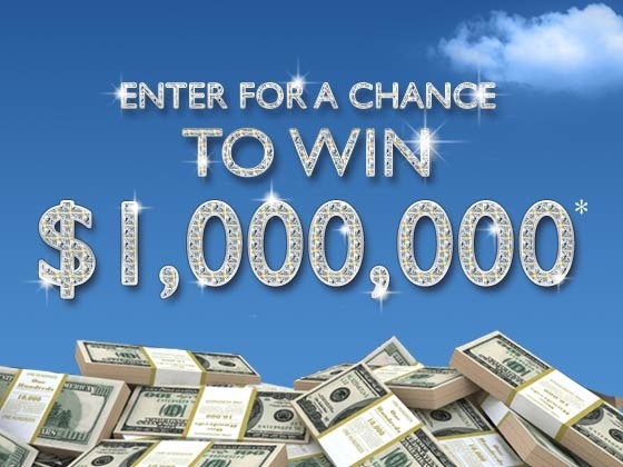Million dollar giveaway 2016 landing
