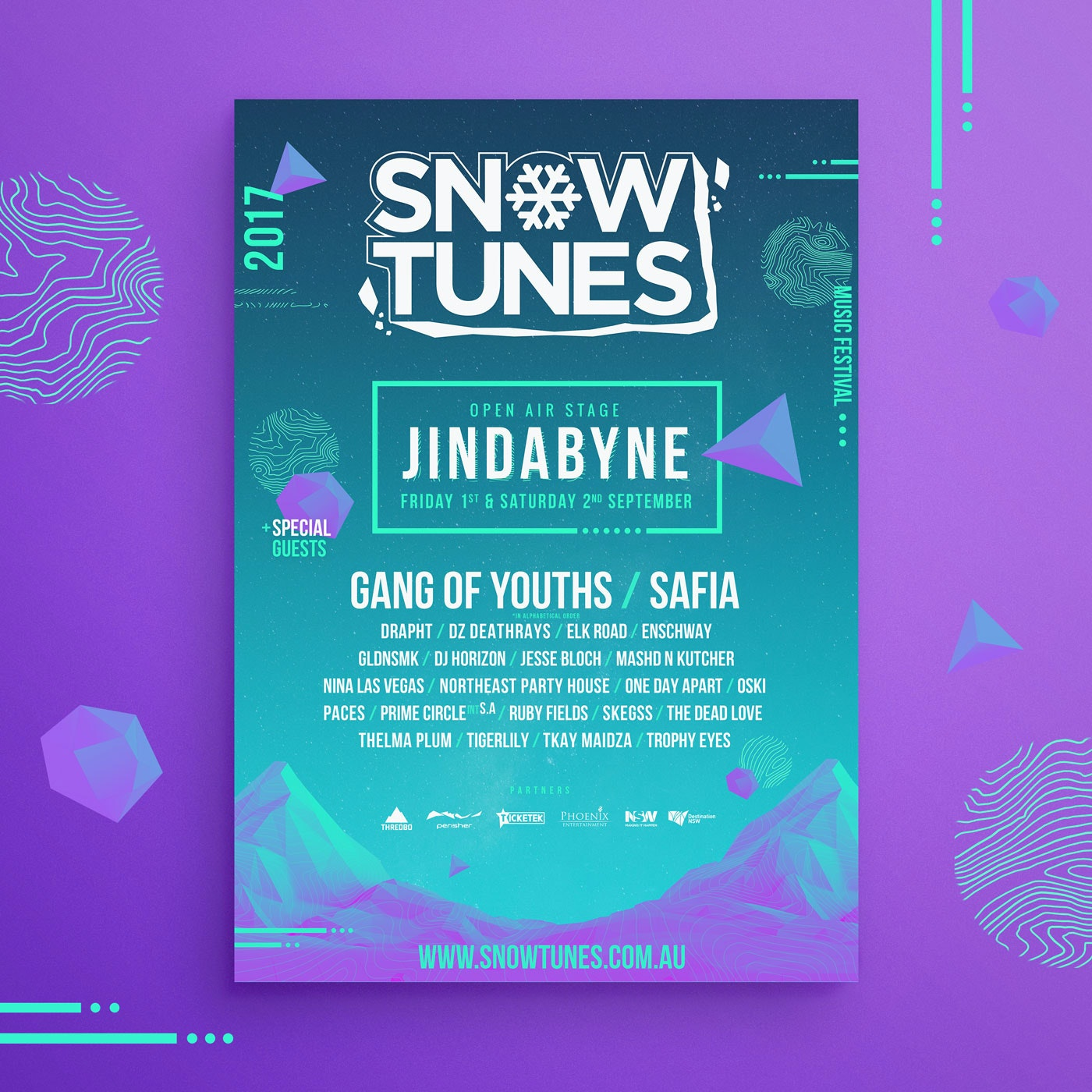 Snowtunes Music Festival in Jindabyne NSW  sweepstakes