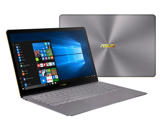 Zenbook 3 deluxe ux490 product photo  1c  quartz grey 10