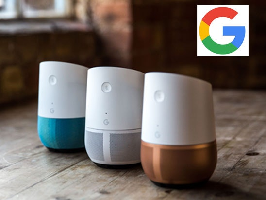 a Google Home hands-free smart speaker  sweepstakes