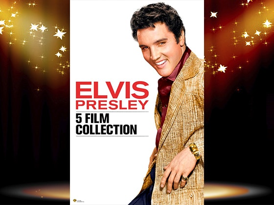 Elvis Presley 5-Film Collection on Digital HD sweepstakes