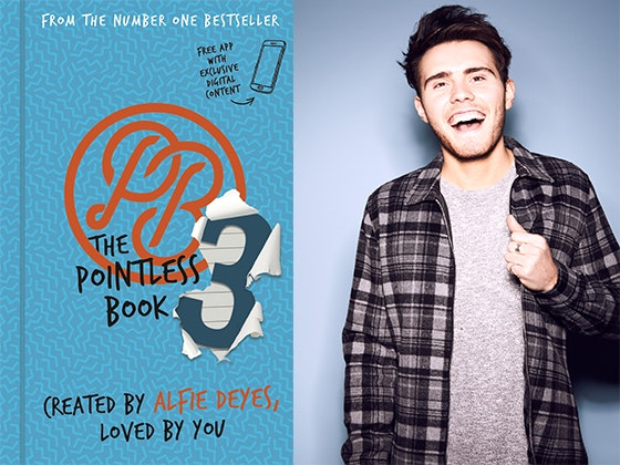 """Pointless Book #3"" by YouTube sensation Alfie Deyes sweepstakes"