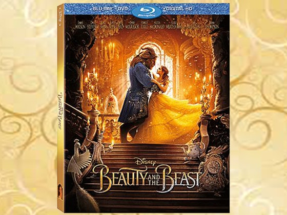 Beauty and the Beast on Blu-ray sweepstakes
