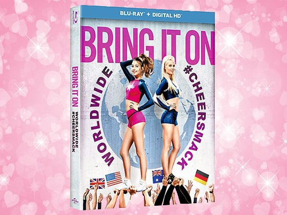 Bring It On: Worldwide #Cheersmack on Blu-ray sweepstakes