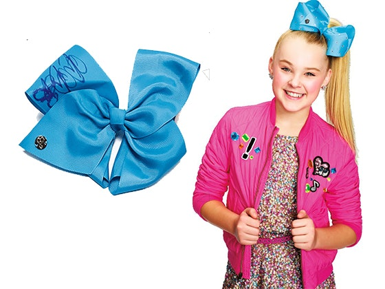 Jojo signed hair bow giveaway