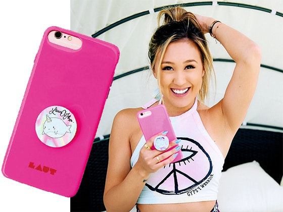 LaurDIY's Signed PopSocket sweepstakes
