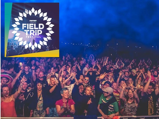 a weekend stay to the Field Trip Festival  sweepstakes
