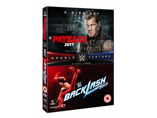 Payback + Backlash 2017 Double sweepstakes
