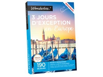 Wonderbox 3joursdexception