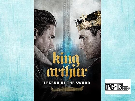 King Arthur Legend of the Sword on Digital HD sweepstakes