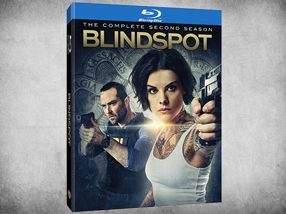 Blindspot: The Complete Second Season on Blu-ray sweepstakes