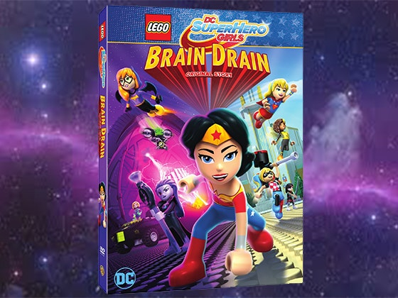 LEGO DC Super Hero Girls: Brain Drain on DVD sweepstakes