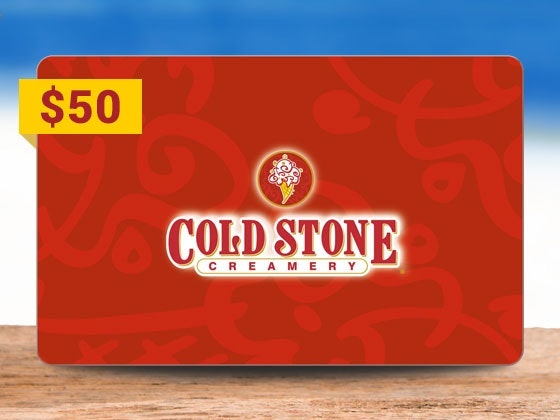 $50 Cold Stone Creamery Gift Card sweepstakes