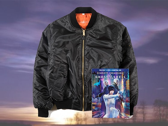 Ghost in the shell prize pack giveaway