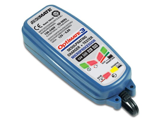 Optimate 3 Global battery charger and maintainer sweepstakes