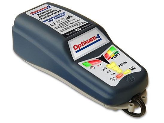 Optimate 4 Dual Battery Charger & Maintainer sweepstakes