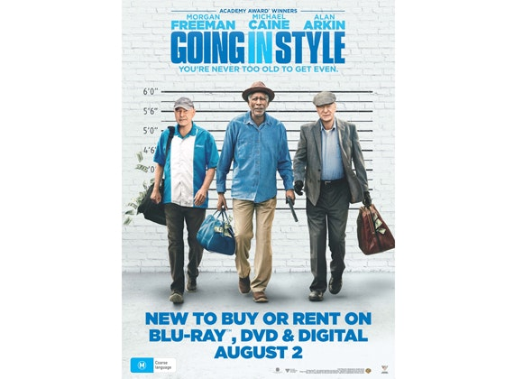 Going in Style DVD  sweepstakes