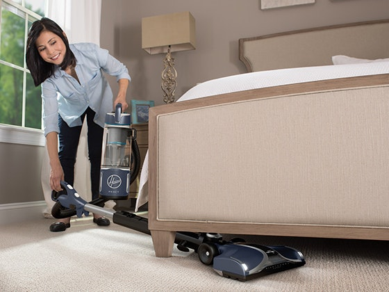 Hoover REACT Powered Reach Plus Vacuum sweepstakes