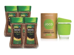 Nescafe gold sweepon