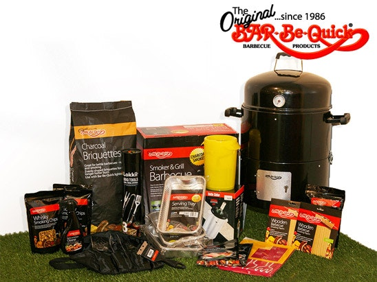 Bar-Be-Quick Smoker & Grill Barbecue and accessories. sweepstakes