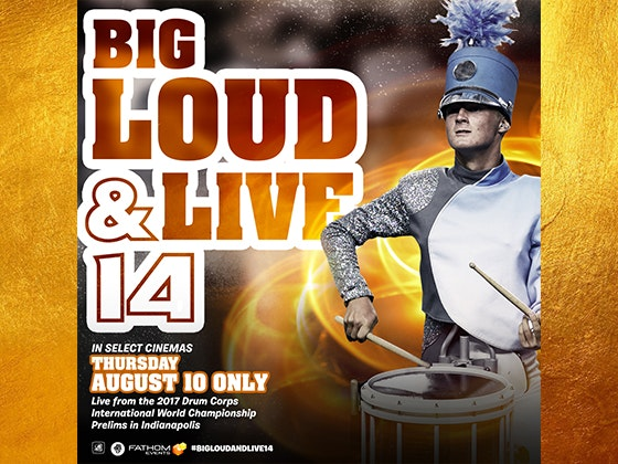 Big, Loud & Live Tickets sweepstakes