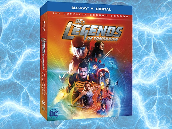DC's Legends of Tomorrow: The Complete Second Season on Blu-ray™ sweepstakes