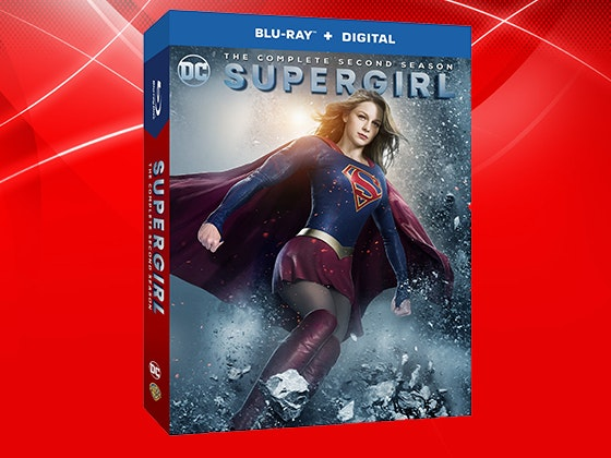 Supergirl: The Complete Second Season on Blu-ray™ sweepstakes
