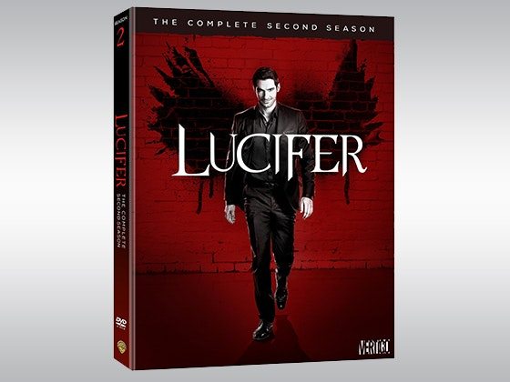 Lucifer: The Complete Second Season on DVD sweepstakes